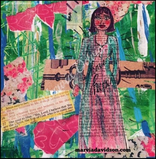 i have hope mixed media marviadavidson