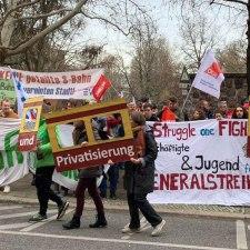 Keine Zerschlagung und Privatisierung der S-Bahn in Berlin