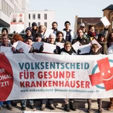 Volksbegehren gegen Pflegenotstand in Berlin