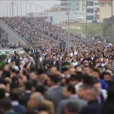 Massenstreiks in Südkurdistan