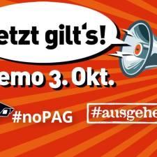 Jetzt gilt's! Großdemo von #noPAG und #ausgehetzt in München