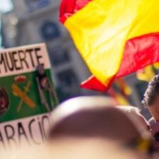 Spanien: Wenn die »Mitte« mit Nazis demonstriert