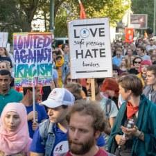 #unteilbar Demonstration: »Alle auf nach Dresden!«