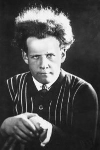Der junge Sergei Eisenstein