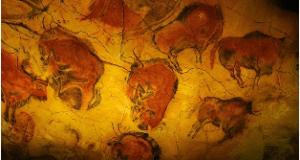 Desenho Rupestre. Caverna de Lascaux, França