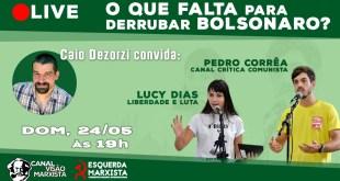 O que falta para derrubar Bolsonaro?