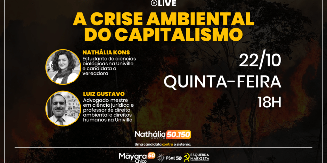 Live: A crise ambiental do capitalismo