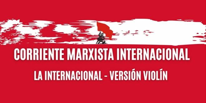 A Internacional (versão no violino)