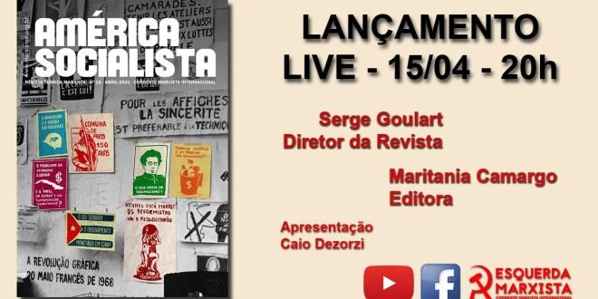 Live: Lançamento da nova edição da Revista América Socialista