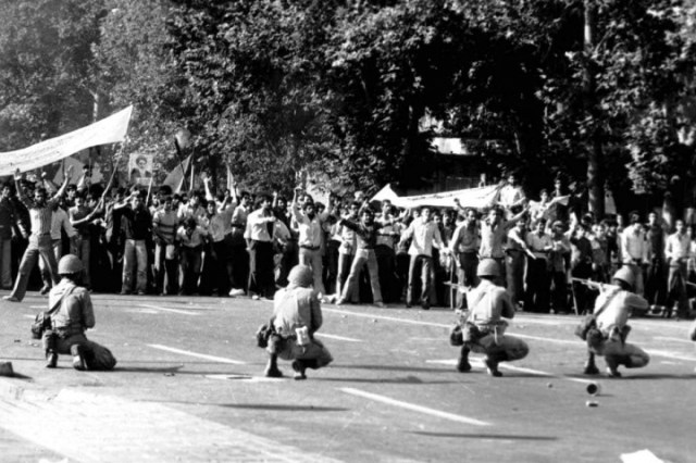 Iranian Revolution Image public domain