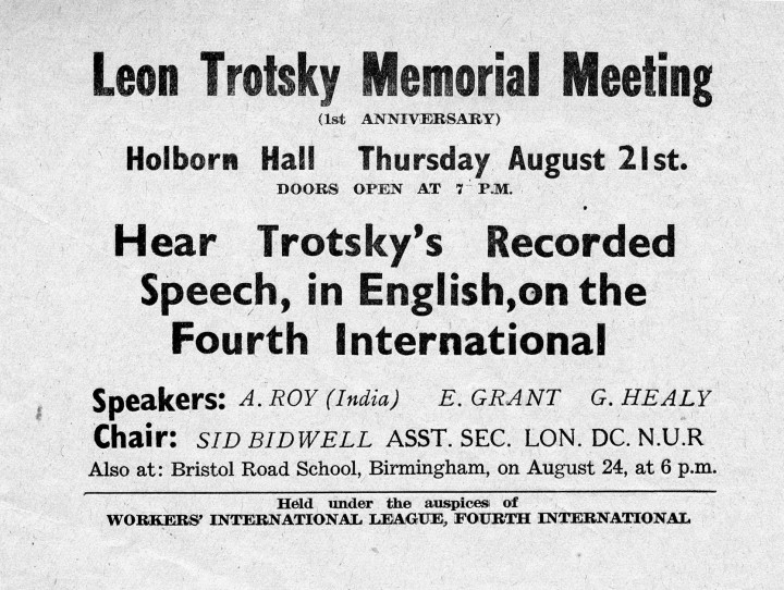 Trotsky letter 2