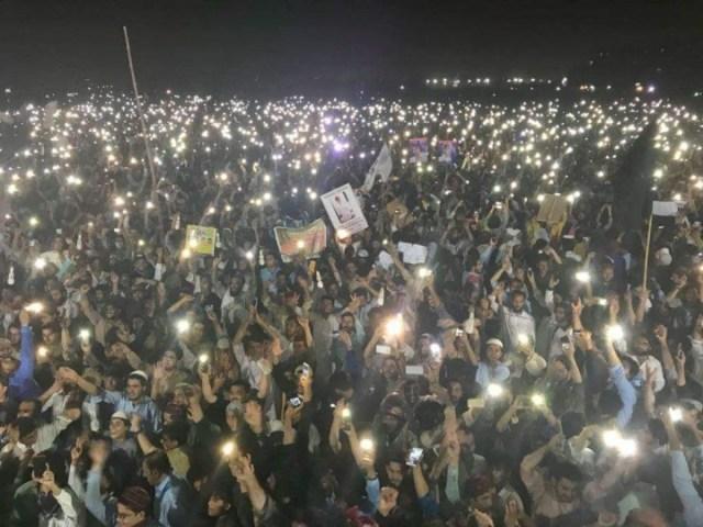 PTM Karachi 8