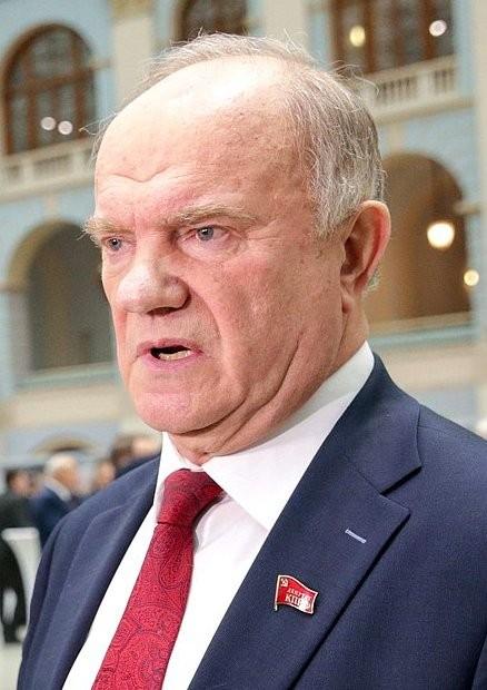 Gennady Zyuganov Image duma gov ru