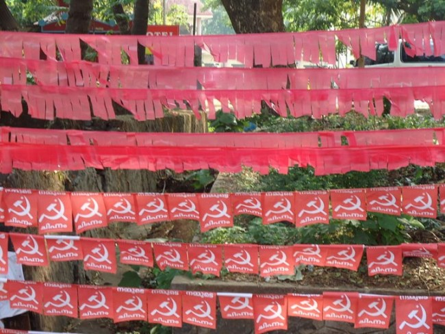 CPIM election decorations Image Ranjithsiji