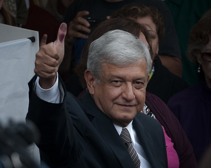 AMLO election Image Eneas De Troya