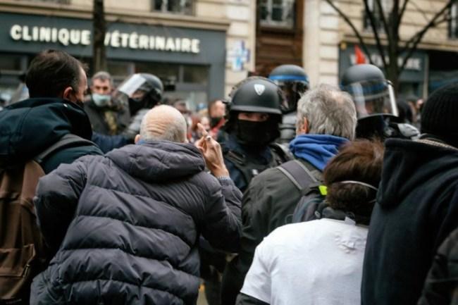 GSB protest 15 Martin Noda phototheque rouge Hans Lucas