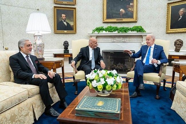 Biden and Ghani Image public domain