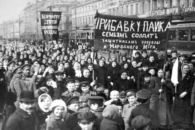 Russian revolution Image public domain