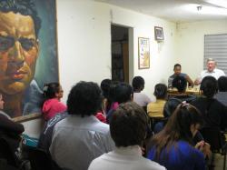 Discusión con los estudiantes
