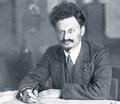 trotsky 1918 desk th