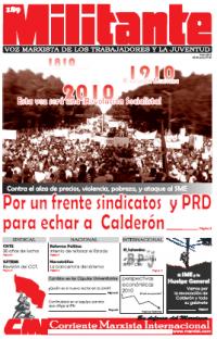 Mexico: 2010 año de lucha de clases