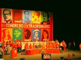 Primer Congreso Extraordinario del PSUV - Chávez hace un llamado por la V Internacional