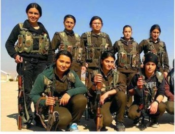 WomenFighterKobani