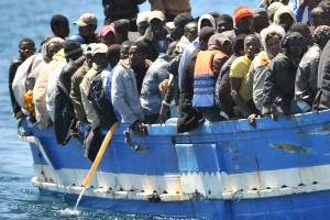 asylum seekers on way to greece