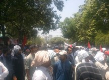 Lahore-Wapda Hydro Union Protest for Pay Raise 06