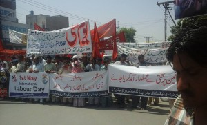 May Day Rally in Multan