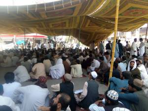 Quetta-Young Doctors & Paramedics Sit-in Protest 00