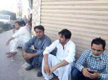 Quetta-Young Doctors & Paramedics Sit-in Protest 01