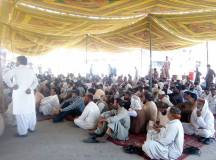Quetta-Young Doctors & Paramedics Sit-in Protest 06