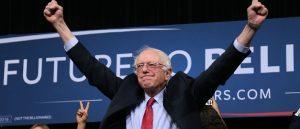 Bernie Sanders Energetic