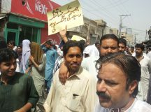Kallur kot - Protest and Rally against loadshedding (8)