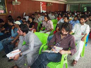 A view of School Participants