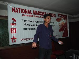 Zain Ul Abideen Leading off Youth & Revolution