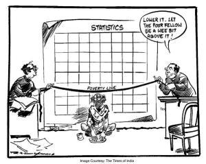 statistics-of-poverty-of-india Cartoon