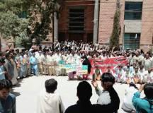 کوئٹہ: پیرامیڈیکس سٹاف ایسوسی ایشن کا دھرنا جاری، صوبہ بھر میں احتجاجی کیمپ، پریس کلب کے سامنے مظاہرہ!