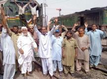 پاکستان ریلوے ٹرین ڈرائیورز کی ملک گیر ہڑتال، ریل کا پہیہ جام