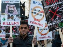محمد بن سلمان کا دورۂ برطانیہ؛ حکمران طبقے کی منافقت کا پردہ چاک!
