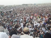 تمام تر ریاستی جبر کے باوجود ہزاروں افراد نے پشتون تحفظ موومنٹ کےکراچی جلسے میں شرکت کی