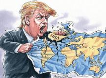 عالمگیریت کے خلاف ٹرمپ کی جنگ
