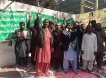 کراچی: تنخواہوں کی عدم ادائیگی کیخلاف لاڑکانہ ڈویلپمنٹ اتھارٹی کے ملازمین سراپا احتجاج