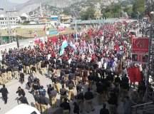 مظفر آباد: پیپلز نیشنل الائنس کے پرامن احتجاج پر ریاستی جبر
