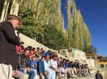 گلگت بلتستان: کامریڈ احسان کی انتخابی مہم کے سلسلے میں التت گاؤں میں کارنر میٹنگ