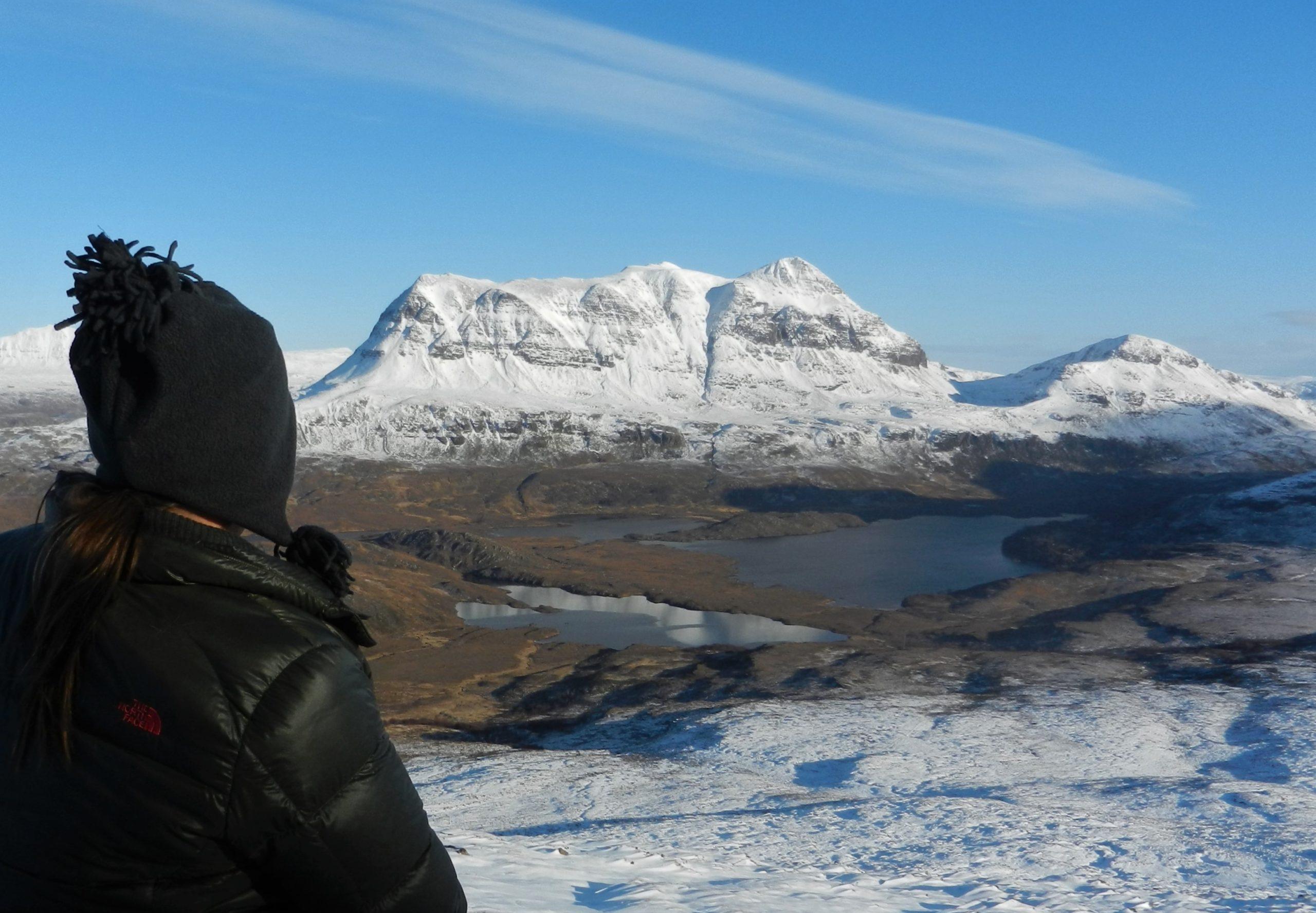 Winter wonderland around Stac Pollaidh