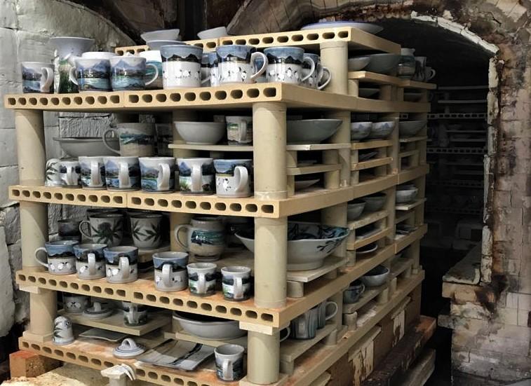 Highland Stoneware pottery kiln