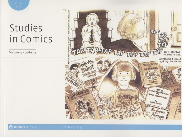 Studies in Comics cover