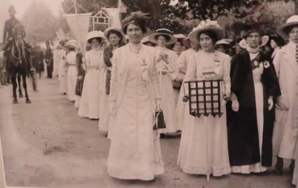 suffragette procession